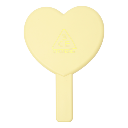 3CE LOVE 3CE HEART HAND MIRROR