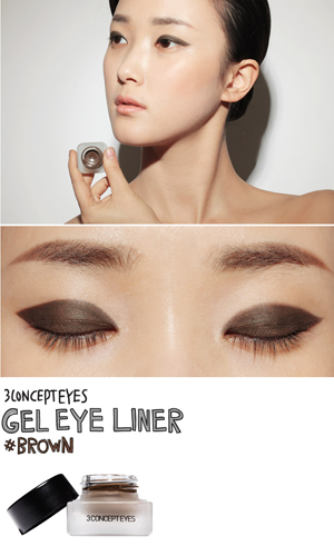 3CE GEL EYE LINER #BROWN