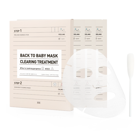 3CE BACK TO BABY MASK #CLEARING TREATMENT