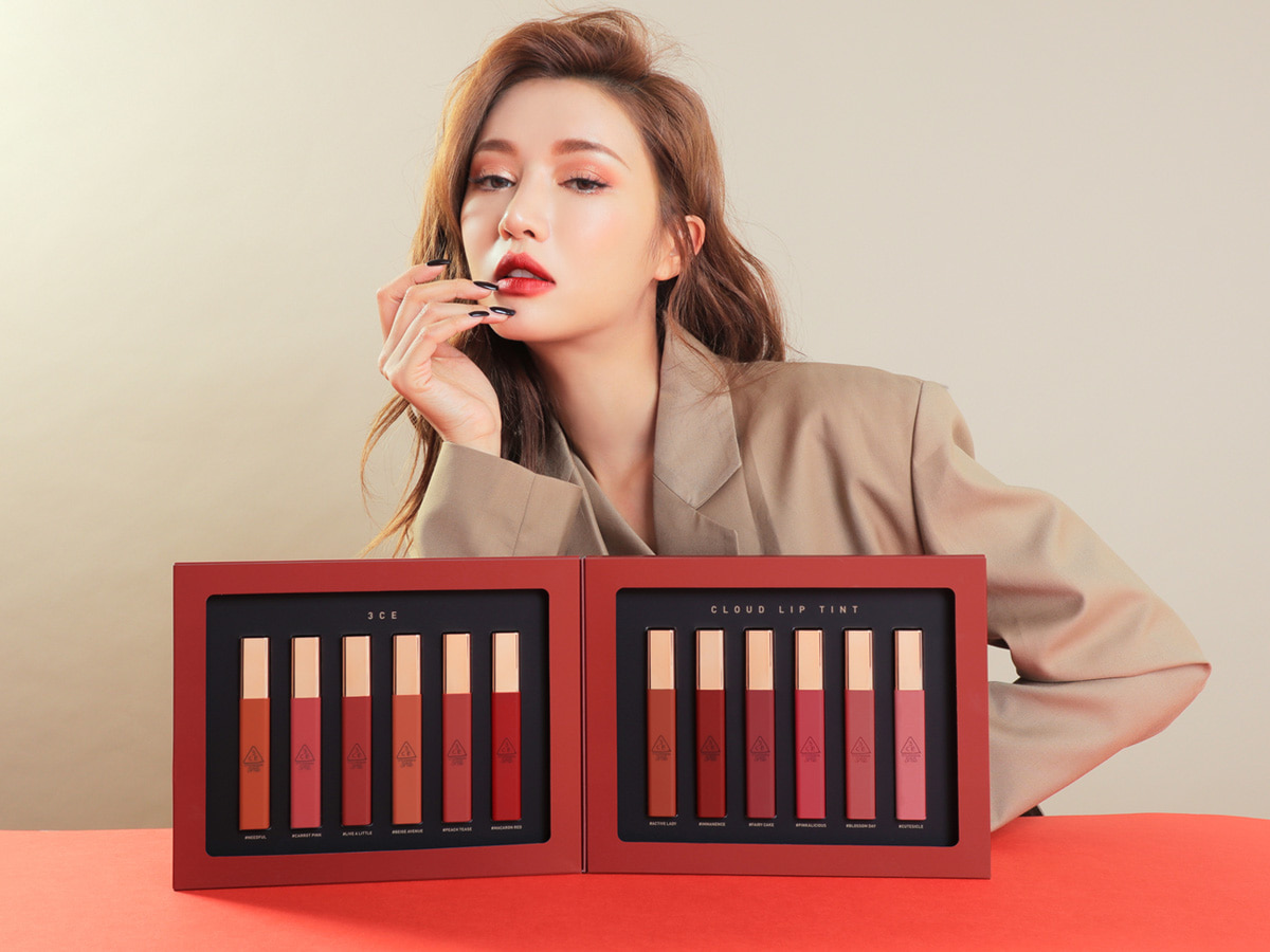 3CE CLOUD LIP TINT KIT