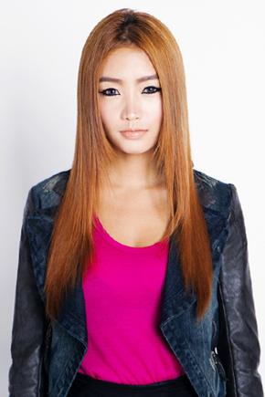 stylenanda模特发型