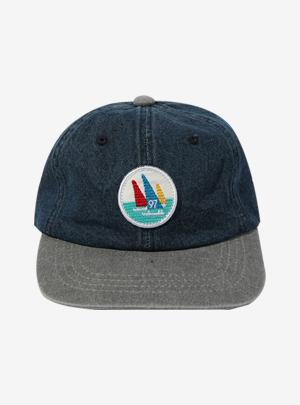 DENIM BOAT MARK CAP