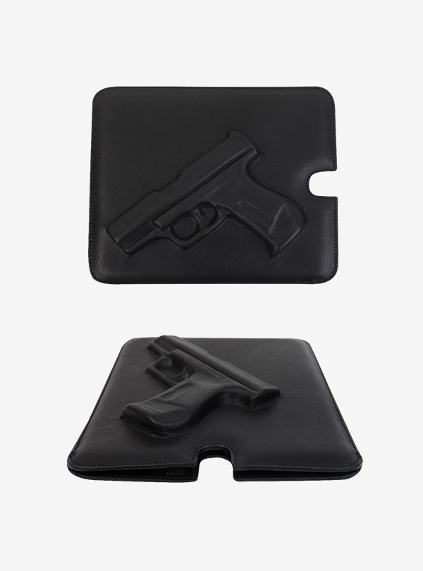 SOFTIQUE GA IPAD CASE GUN/BLACK