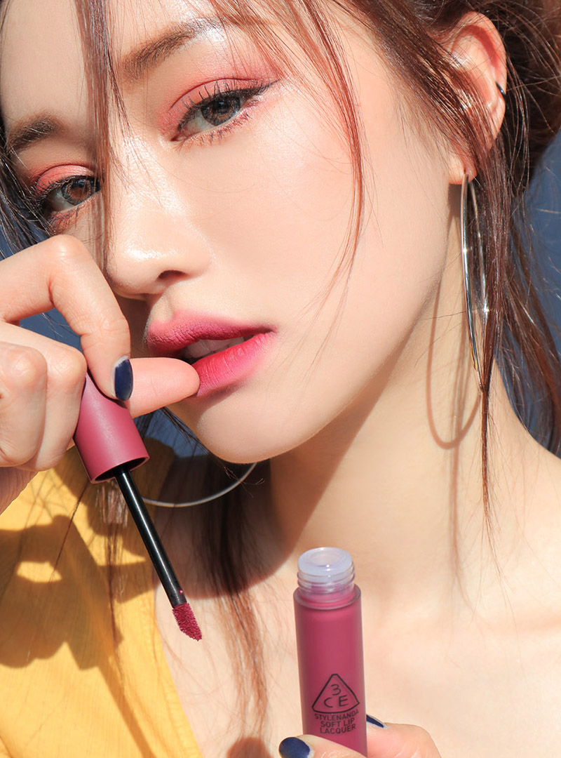 3CE SOFT LIP LACQUER #MIDNIGHT BOTTLE
