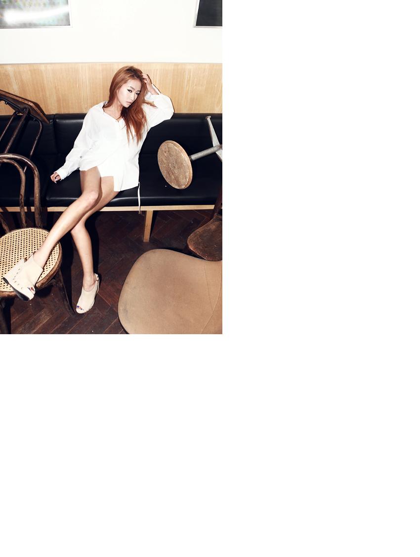 stylenanda-时尚超高坡跟鞋
